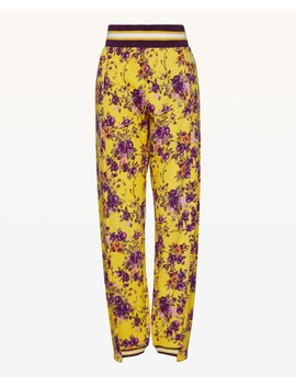Jxjc Etched Floral Asymmetric Cuff Pant by Juicy Couture