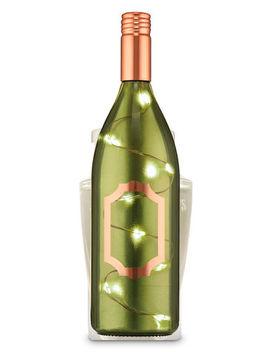 Wine Bottle With Fairy Lights   Wallflowers Fragrance Plug    by Bath & Body Works