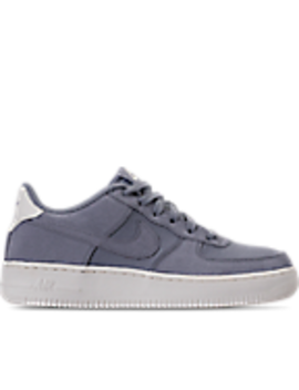 Boys' Grade School Nike Air Force 1 Suede Casual Shoes by Nike