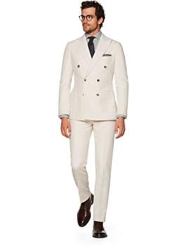 Havana Off White Plain by Suitsupply