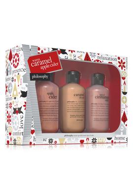 Bath & Shower Gel Gift Set by Warm Caramel Apple Cider