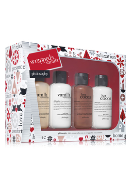 Shower Gel & Body Lotion Gift Set by Wrapped In Vanilla
