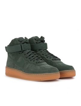 Men's Green Air Force 1 High '07 Lv8 Suede by Nike