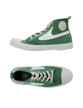 Men's Green High Tops & Sneakers by Diesel