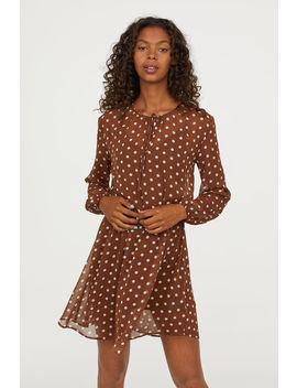 Gepunktetes Kleid by H&M