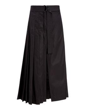 Miles High Twist Cotton Skirt by Joseph