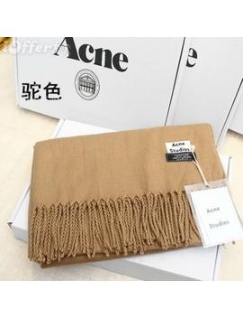 Acne Studios Women 100% Cashmere Scarf Wraps Shawl Wj01 by I Offer