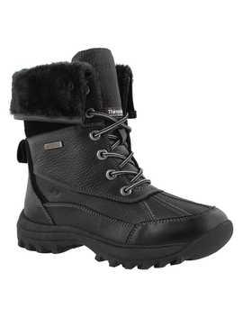 Women's Shakira 2 Black Waterproof Boots by Soft Moc