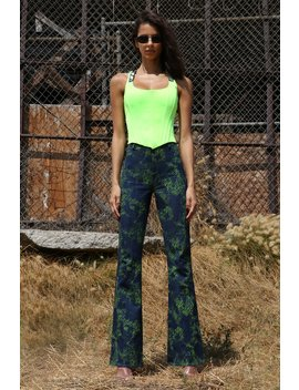 Pre Order Siobhan Corset   Neon Green (Shipping End October) by I.Am.Gia