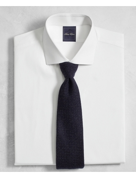 Golden Fleece® Regent Fitted Dress Shirt, White English Collar by Brooks Brothers