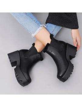 Gan Fur Trim Boots by Koi Footwear