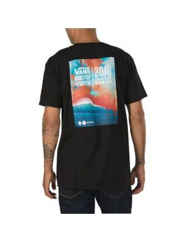 2018 Sunset Cup Poster T Shirt by Vans