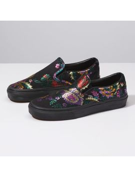 Festival Satin Classic Slip On by Vans