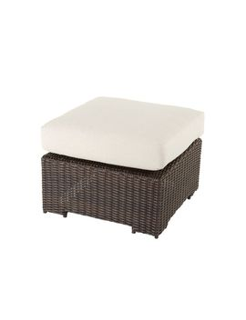Canvas Salina Collection Sectional Patio Ottoman by Canadian Tire
