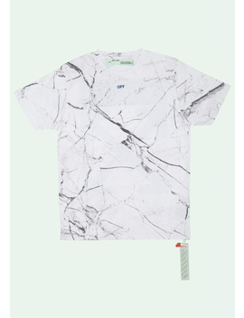 White Marble T Shirt by Off White