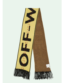 Yellow Industrial Scarf by Off White