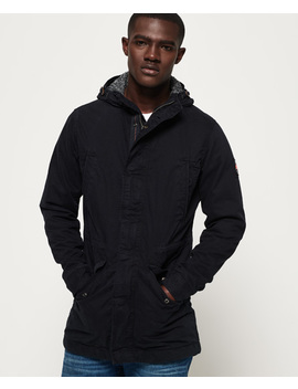 Military Parka Jacket by Superdry