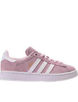 Girls' Grade School Adidas Campus Adicolor Casual Shoes by Adidas