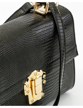 croco-embossed-crossbody-satchel by le-chateau
