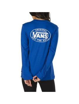 Junction Long Sleeve Boyfriend T Shirt by Vans