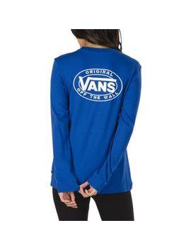 Junction Long Sleeve Boyfriend T Shirt by Vans