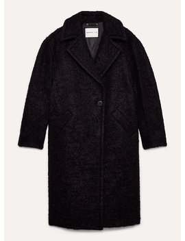 Leibovitz Coat   Long, Oversized, Textured Coat by 1 01 Babaton