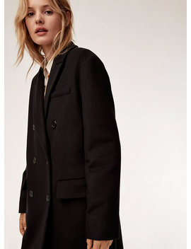 Marais Wool Coat   Double Breasted Coat by Wilfred