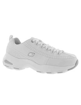 Women's D'lite Ultra White Laceup Sneakers   Wide by Skechers