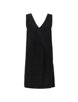 Harmony Knitted Black Mini Dress by Olivar Bonas