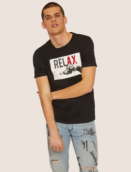 Regular Fit Relax Crew by Armani Exchange