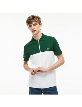 Men's Slim Fit Honeycomb Polo by Lacoste