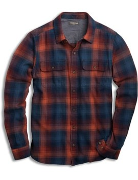 Toad&Co   Indigo Flannel Shirt   Men's by Toad&Co