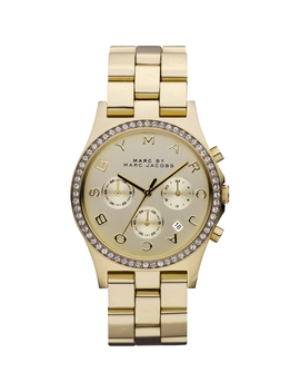 Ladies Marc Jacobs Henry Glitz Chronograph Watch Mbm3105 by Marc Jacobs