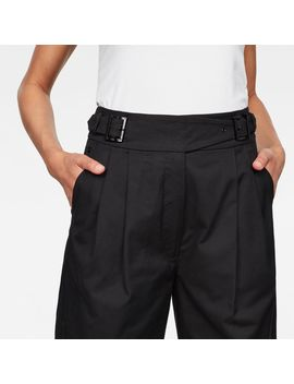 Bristum Pleated Wide Leg Chino by G Star