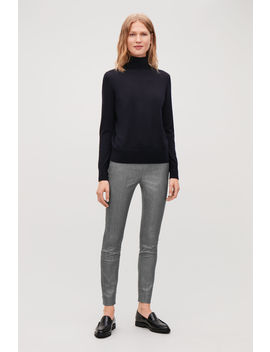 Skinny Fit Legging Trousers by Cos