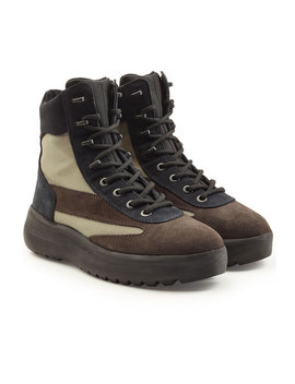Suede Military Boots by Yeezy