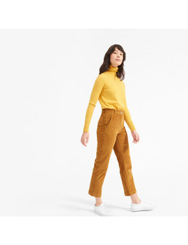 The Corduroy Straight Leg Crop by Everlane