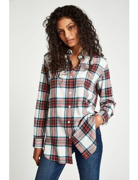 Railford Boyfriend Check Shirt by Jack Wills