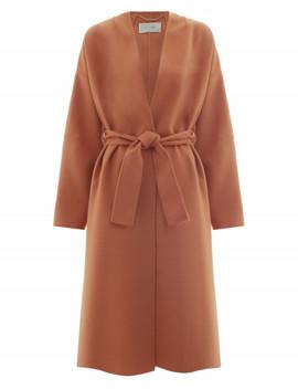 Unbridled Wrap Coat by Zimmermann