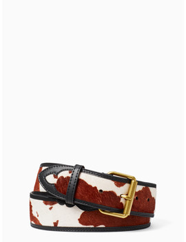Western Leather Belt by Kate Spade