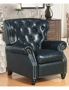 Tufted Brady Leather Recliner by Zulily