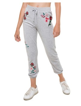 Floral Couture Velour Silverlake Pant by Juicy Couture