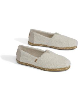 Natural Plush Shearling Women's Classics by Toms