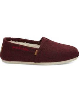 Oatmeal Melange Day Dreamer Felt Women's Classics by Toms