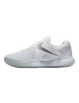 Nike Women's Zoom Live Basketball Shoes   White/Grey by Sport Chek