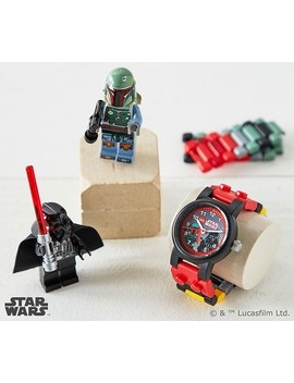 Boba Fett™ And Darth Vader™ Lego Watch by Pottery Barn Kids
