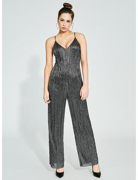 Juda High Slit Jumpsuit by Guess