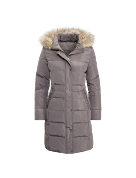 Faux Fur Trim Down Coat by Ralph Lauren