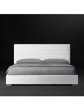 Modena Panel Nontufted Fabric Platform Bed by Restoration Hardware