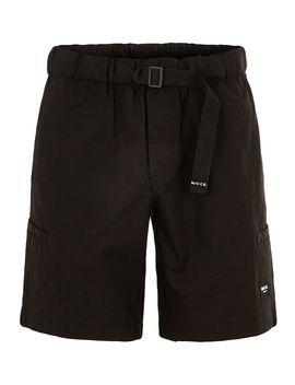 Nicce Black Cargo Shorts by Topman